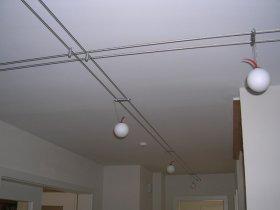 Gleichmäßiges Licht im ganzen (L-förmigen) Raum